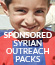 Sponsored Syrian Outreach Packs
