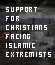 Support for Christians Facing Islamic Extremists