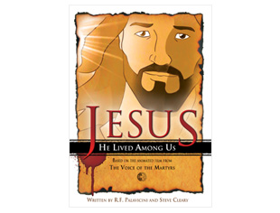Jesus: He Lived Among Us Book