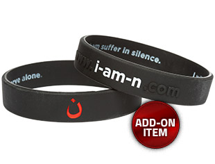 I Am N Commitment Wristband (Add-on Item)