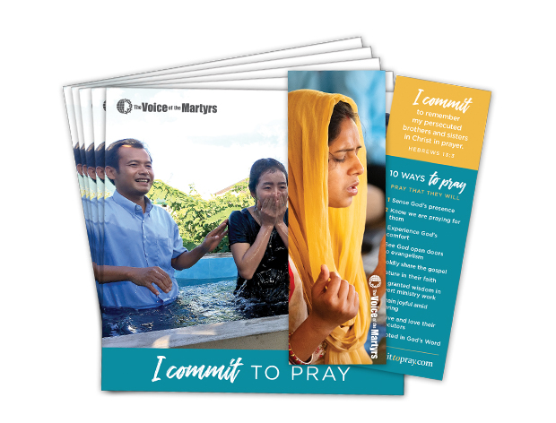 Pack of 25 Prayer Reminder Bookmark Brochures
