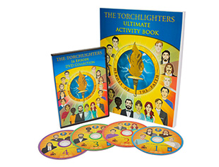 The Torchlighters Ultimate Activity Book and DVD Set