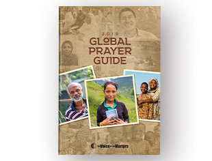 Global Prayer Guide Pack of 25