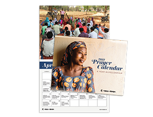 2019 Prayer Calendar (pack of 10)