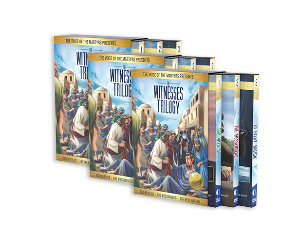 The Witnesses Trilogy Boxed Set (3 Sets)