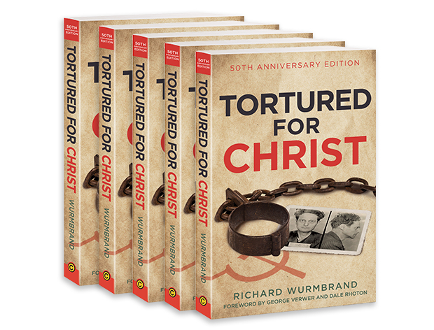 Tortured for Christ 50th Anniversary Edition (5 Books)