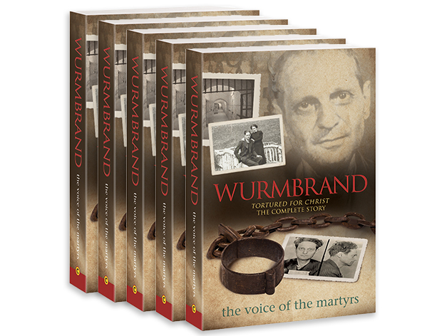 Wurmbrand: Tortured for Christ - The Complete Story (5 Books)