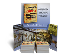 50 Tortured for Christ Books with Display