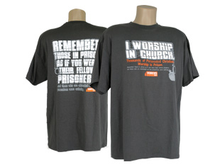 I Worship in Church T-Shirt (S)